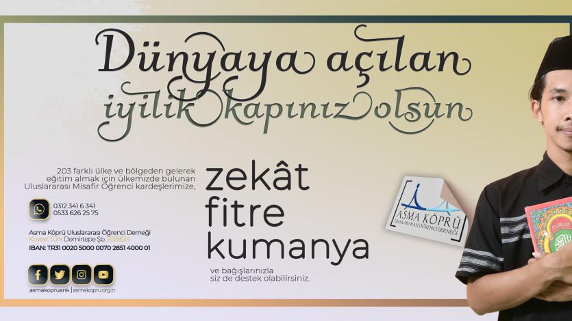 Zekat, Fitre, Kumanya