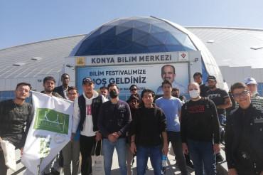Öğrencilerimiz Konya Bilim Festivalinde